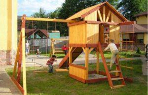 Порядок строительства детского домика