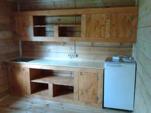 Виды кухонь для дачи в зависимости от планировки: