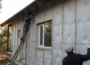 Пошаговое утепление дачного дома своими руками
