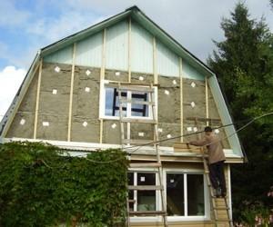 Утепление крыши загородного дома