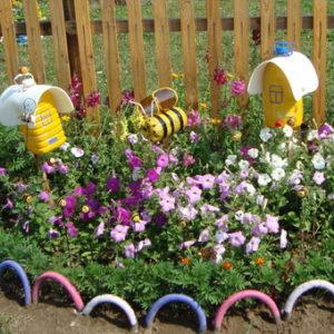 идеи оформления клумб и цветников на даче