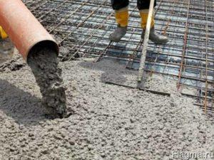 Где используется бетон М100